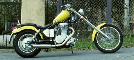 Photo # 2 Suzuki LS 650 Chopper