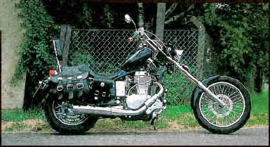 Photo # 3 Suzuki LS 650 Savage Chopper
