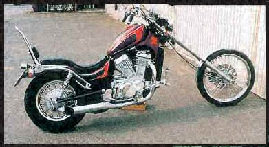 Photo # 4 Suzuki VS 750 Intruder Chopper