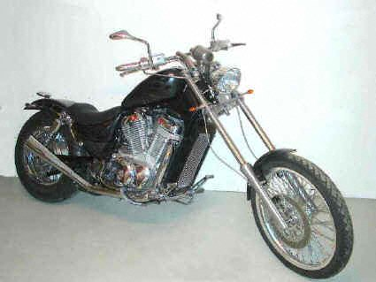Photo # 9 Suzuki VS800 Intruder Chopper
